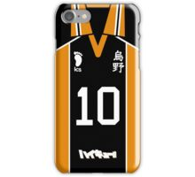HAIKYUU!! SHOYO HINATA JERSEY PHONE CASE KARASUNO ANIME SAMSUNG GALAXY + IPHONE iPhone Case/Skin