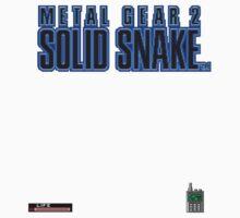 Metal Gear 2 Solid Snake by piedude100