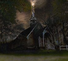 Church on the hill by Kelley-D
