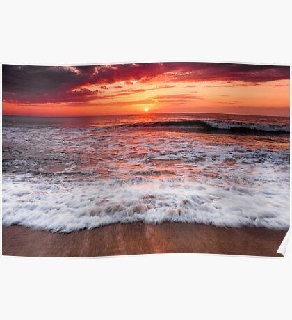 Outer Banks, North Carolina Sunrise  Poster