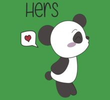 """His & Hers"" Panda (Couple Shirts) Boy Version Kids Clothes"