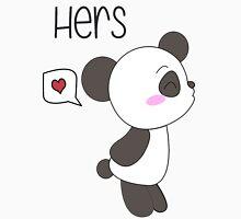 """His & Hers"" Panda (Couple Shirts) Boy Version Unisex T-Shirt"