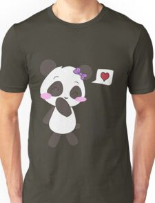 """His & Hers"" Panda (Couple Shirts) Girl Version Unisex T-Shirt"