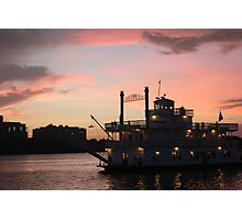 Sunset on the Potomac Photographic Print