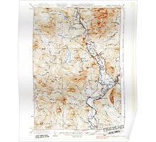 USGS Topo Map  Vermont VT Guildhall 337954 1937 62500 Poster