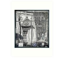 Providence Department Store Reflection  Art Print