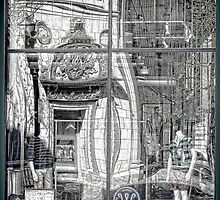 Providence Department Store Reflection  by Jack McCabe