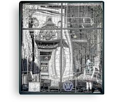 Providence Department Store Reflection  Canvas Print