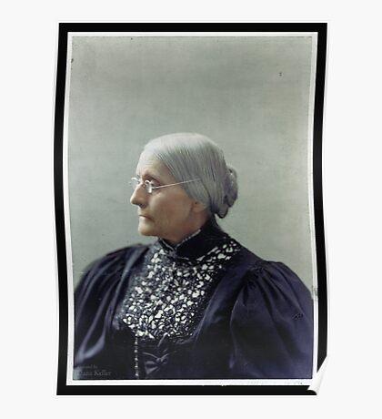 Susan B. Anthony, ca. 1900 Poster