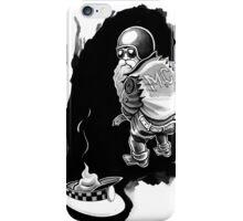 santa leaves a present iPhone Case/Skin