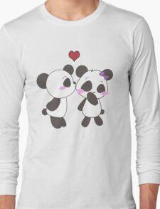 Panda Love Apparel  Long Sleeve T-Shirt
