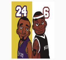 Lebron And Kobe Characters by bc98
