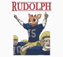 Rudolph One Piece - Short Sleeve