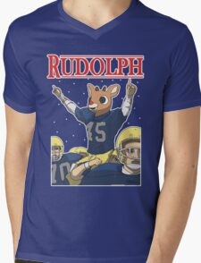 Rudolph Mens V-Neck T-Shirt