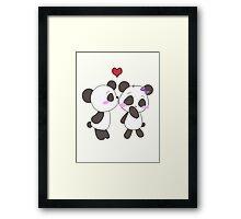Panda Love!  Framed Print