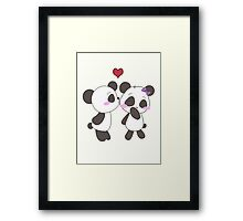 Panda Love!  Framed Print