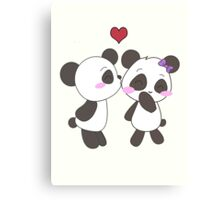 Panda Love!  Canvas Print