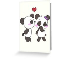 Panda Love!  Greeting Card