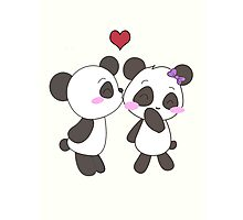 Panda Love!  Photographic Print
