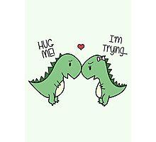 Dino Love! (Hug Me!) [Cases] Photographic Print