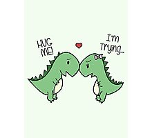 Dino Love! (Hug Me!) [Cases] Photographic Print