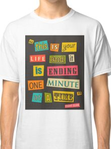 Fight Club Quote 2 Classic T-Shirt