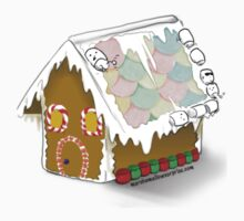 Gingerbread Marshmallow House by mallowkitty