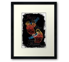 Bluesax Jazz Trumpeters over Time Framed Print