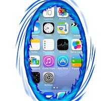 Portal iPhone Case iOS 7 by Gruntbuddy