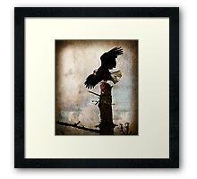 Life Is A Balancing Act Framed Print