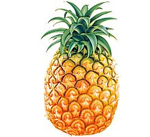 Pineapple Psych Photographic Print