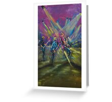 James Reyne live at the Airlie Beach Music festival Greeting Card