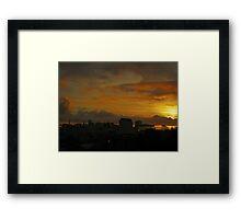 Glorious Sunrise Framed Print