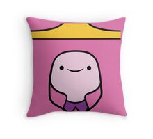 Princess Bubblegum Squ'ed Throw Pillow