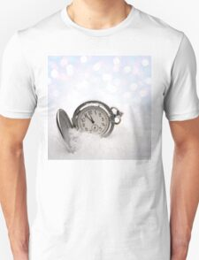 Watch lying in the snow Unisex T-Shirt