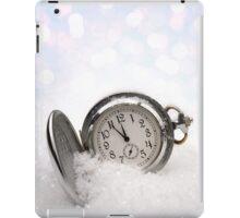Watch lying in the snow iPad Case/Skin