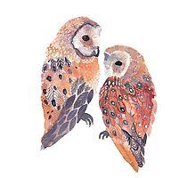 Tumblr Owl Photographic Print