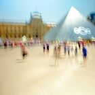 Louvre Afternoon by Rick Gustafson