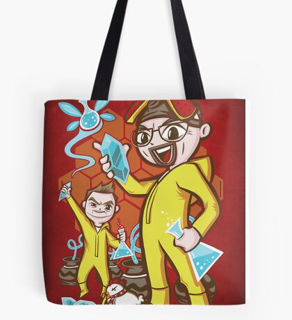 The Legend of Heisenberg Tote Bag