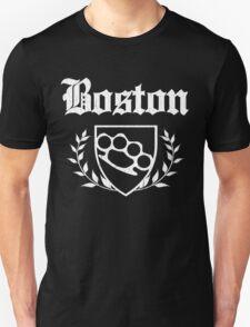 Boston Knuckle Crest (Vintage Distressed) T-Shirt