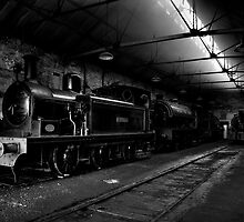 Marley Hill Engine Shed by Andrew Pounder