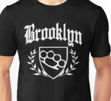 Brooklyn Knuckle Crest (Vintage Distressed) Unisex T-Shirt