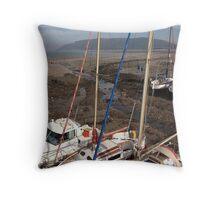 UK - Beached Throw Pillow