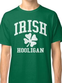 IRISH Hooligan (Vintage Distressed Design) Classic T-Shirt