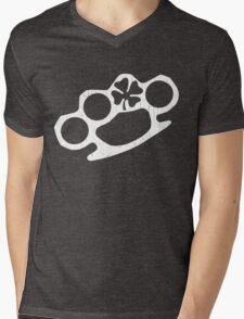 IRISH Knuckles (Vintage Distressed Design) Mens V-Neck T-Shirt