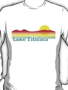 Funny Lake Titicaca, Bolivia (Vintage Distressed) T-Shirt
