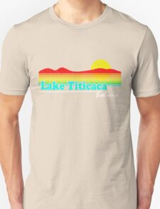 Funny Lake Titicaca, Bolivia (Vintage Distressed) T-Shirt