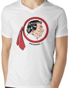 WhiteskinsOrg Logo Shirt (Light) Mens V-Neck T-Shirt