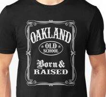 Oakland CA Old School Unisex T-Shirt