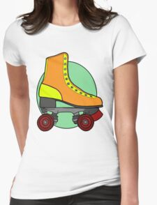 Retro Skate - Orange T-Shirt
